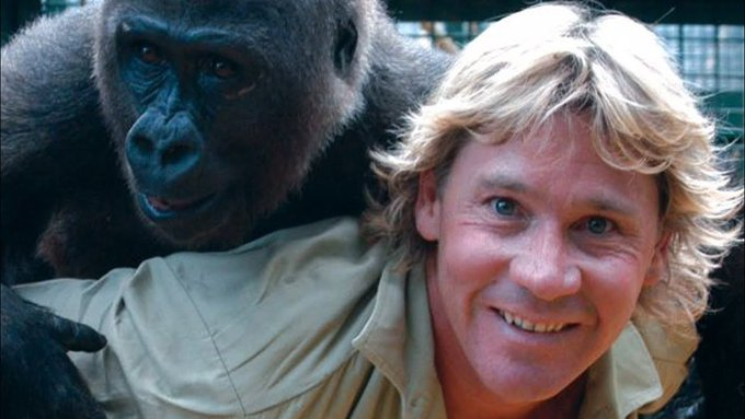 Happy birthday Steve Irwin, you are still one legendary motherfucker and Australia will never forget you!!