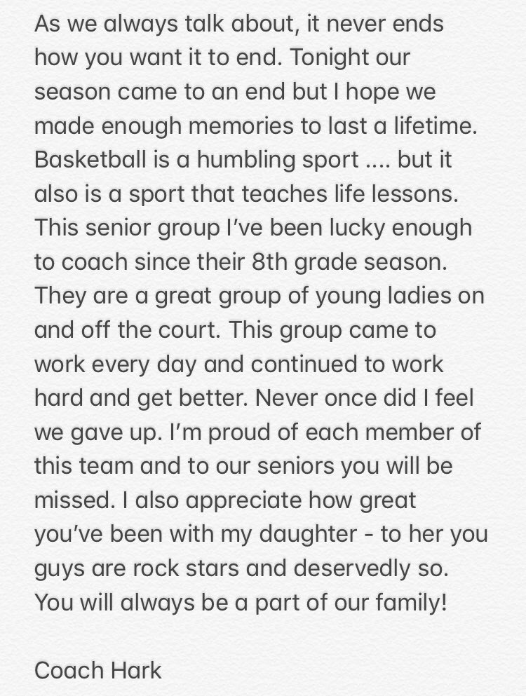 Thank you seniors for everything #FindAWay