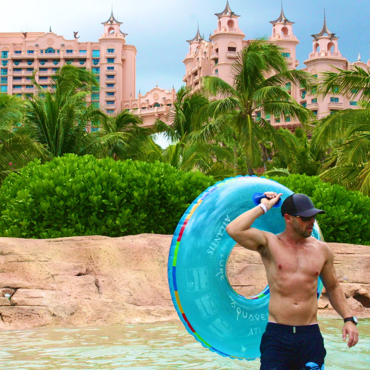 this water tube is so heavy.  #atlantis #tbt