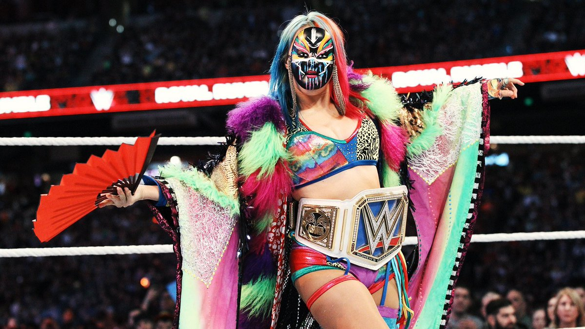 .@WWEAsuka is an inspiration 😍  Thank you for being someone whom is against the NORM and is rather a vision of tomorrow  You're ability mixed with you're charisma has connected the world under a universal love and respect via wrestling  Your one of the greatest ever 👊  #WWE