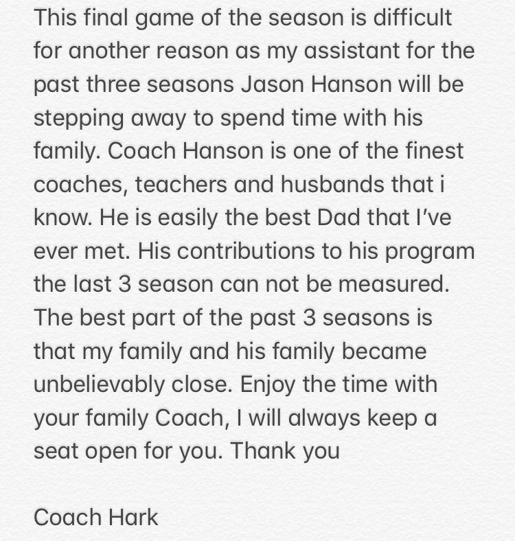 Thanks Coach! #FindAWay