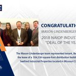Image for the Tweet beginning: Congrats to Avison Young's #Houston