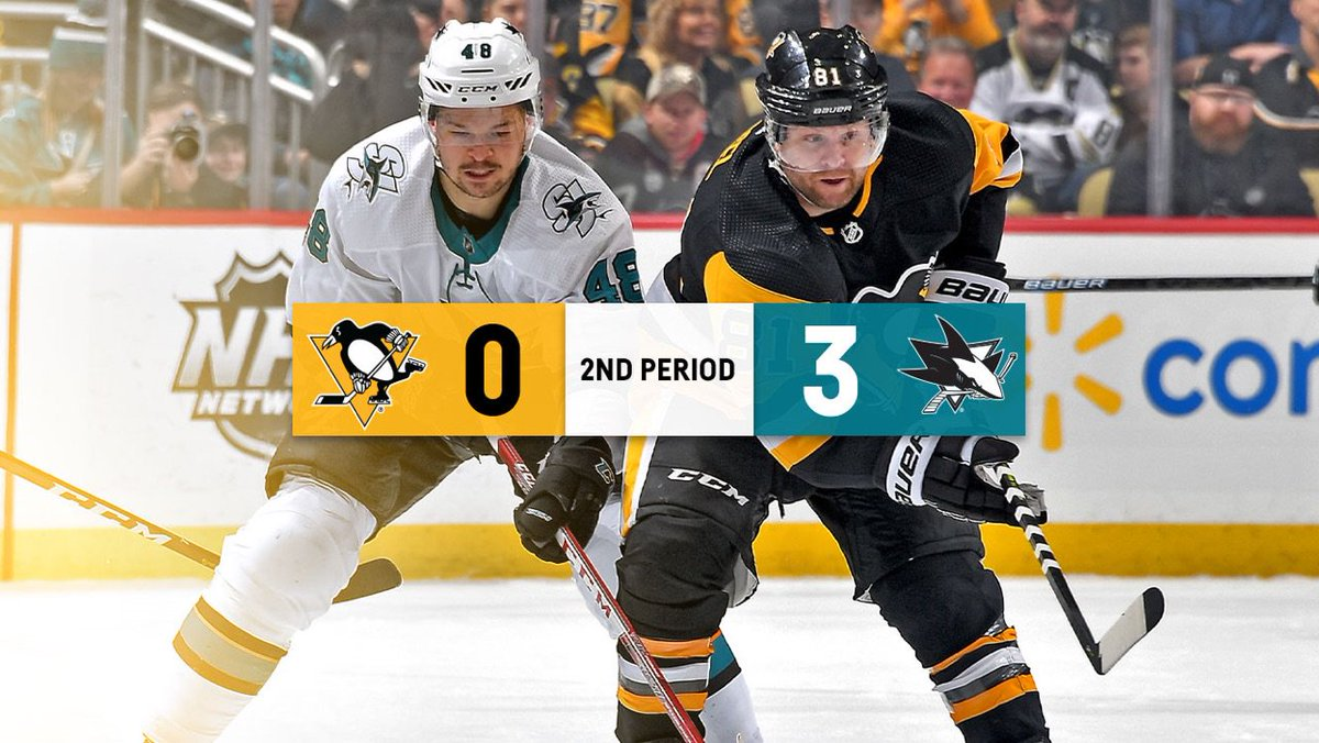 The good guys trail 3-0 after 40 minutes of play.