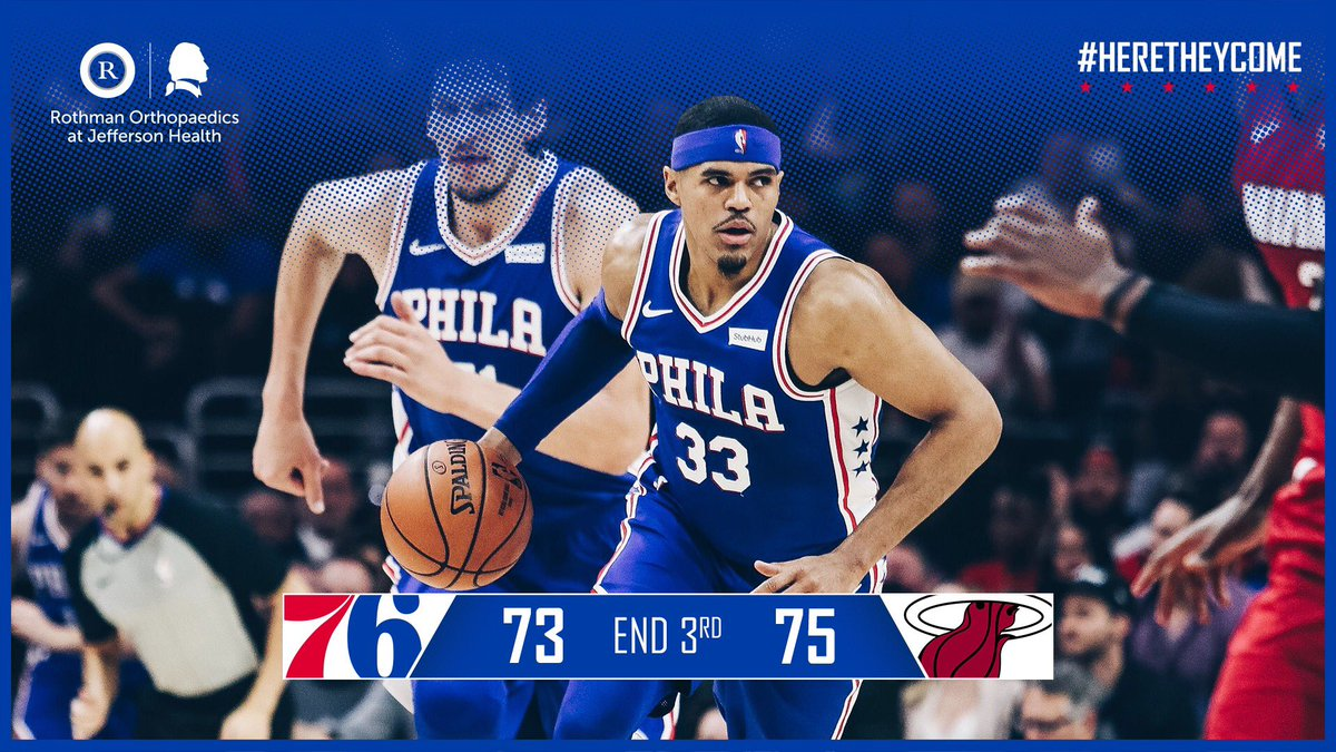 Final frame incoming.  📺: @NBCSPhilly+ 🖥️: http://sixe.rs/nbcsp-stream        📻: @975TheFanatic  🌍: http://sixe.rs/league-pass-18