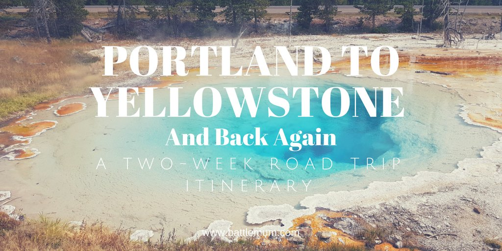 A two-week USA road trip itinerary. Portland to Yellowstone and back again.  Our epic 2-week trip to Yellowstone National Park and Portland, Oregon. travel #usa  http://dld.bz/g6HNc