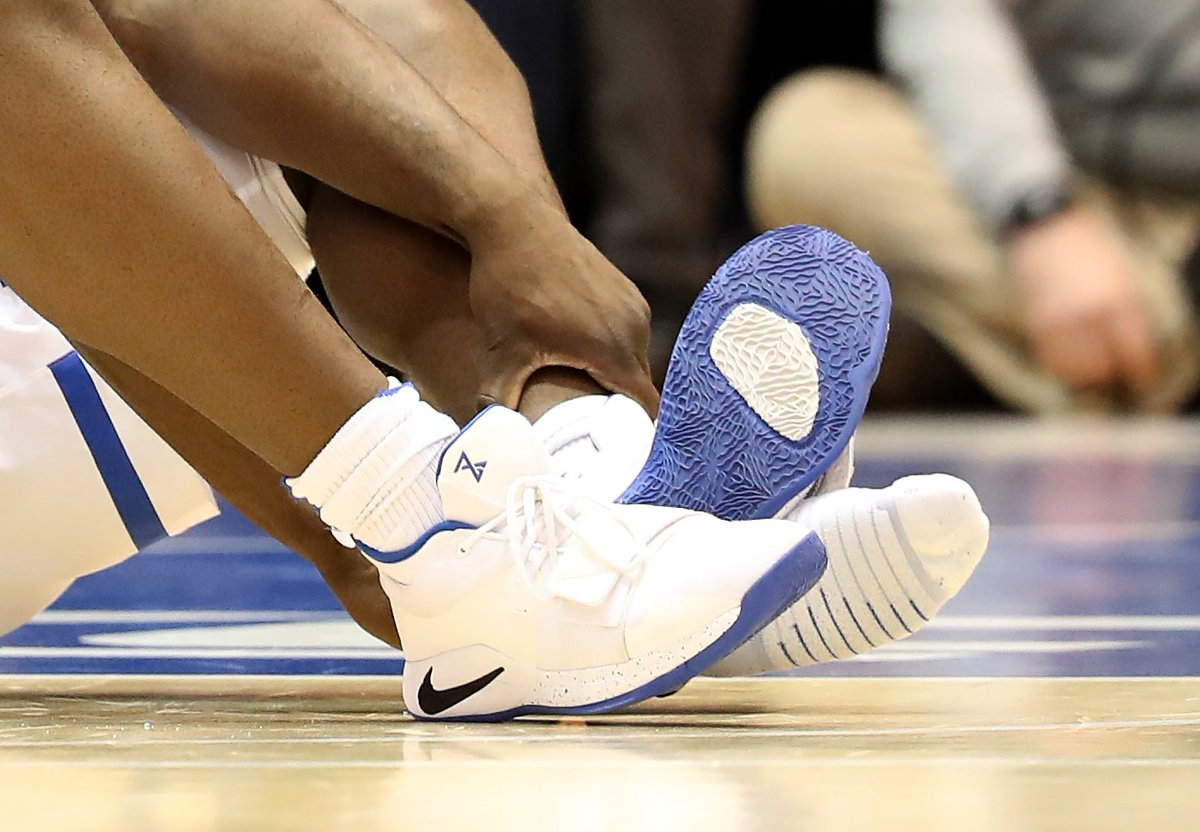 'Honestly, it's very hard to believe that it tore that badly'—design vet Tiffany Beers, on Zion Williamson's sneaker blow out. Read more of her insights:  https://t.co/LsKMLEa52u