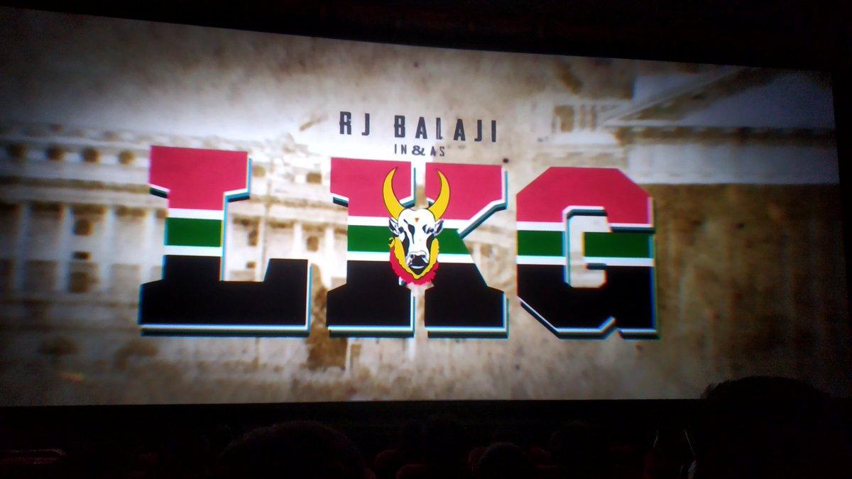 @RJ_Balaji  Anna movie vera level. Unga performance nice. Last 5mins   #LKGfromToday<br>http://pic.twitter.com/XjBokCogBW