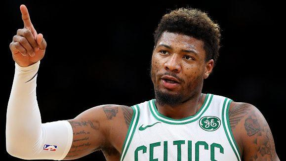 """Marcus Smart on today's #NBA: """"Everything's become real cute…Everybody's scared to get hit"""" 👀  https://t.co/g3V2IUgMAa"""
