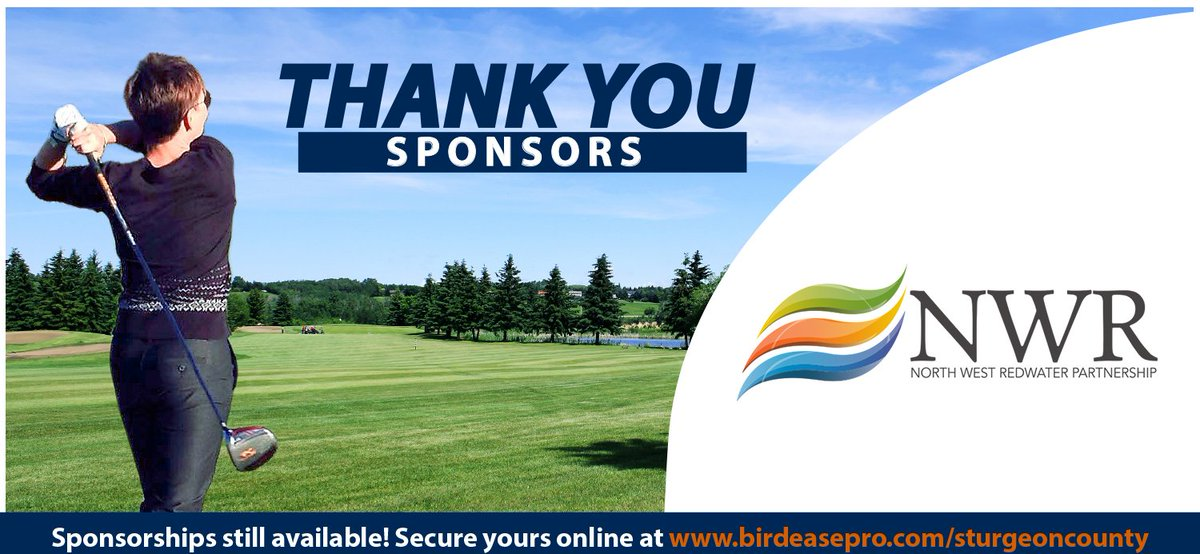 Thank you to @NWRefiningInc for becoming our Platinum Sponsor for the 2019 Mayor's Golf Tournament. There are still sponsorships available! Secure yours online at https://bit.ly/2stxrQq  #SturgeonProud
