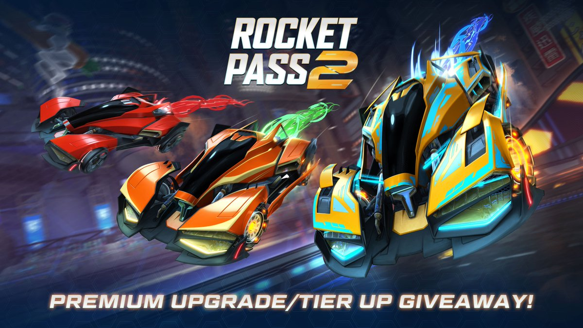 ICON is here and to celebrate we have teamed up with the awesome crew @RocketLeague & @PsyonixStudios to give away #RocketPass2 Premium Upgrades or Tier Ups to FIVE followers   Follow and RT to enter, drawn 7PM AEDT, March 1st. #ad<br>http://pic.twitter.com/yrrmYHb1WW