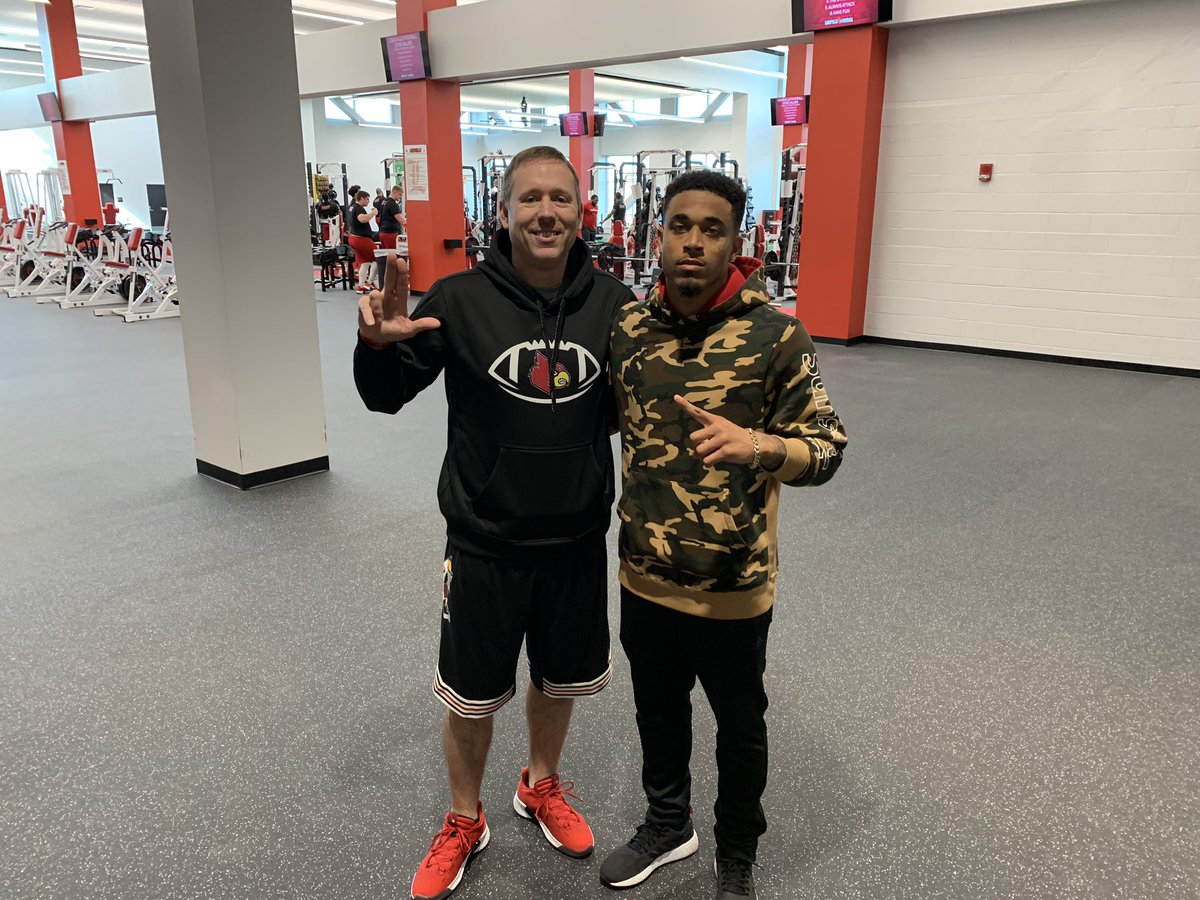 Great seeing @JaireAlexander back here in THE VILLE!! Great player from my home State!!