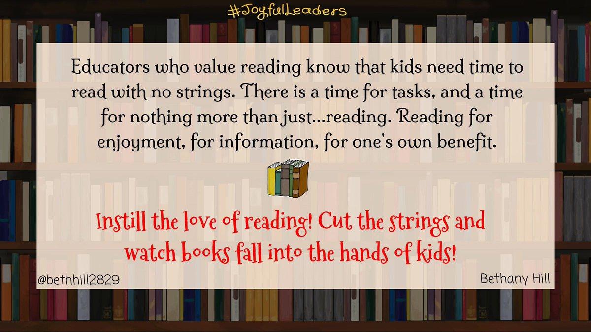 A3: Let them read with no strings! #EduAR