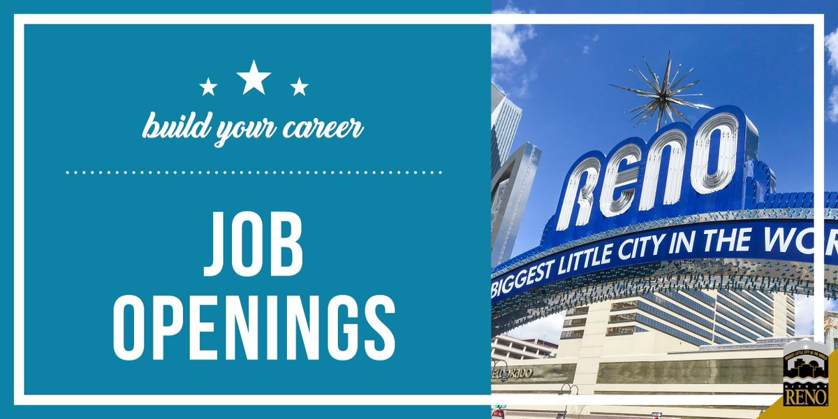 City Of Reno Jobs >> City Of Reno On Twitter City Of Reno Is Hiring For Building