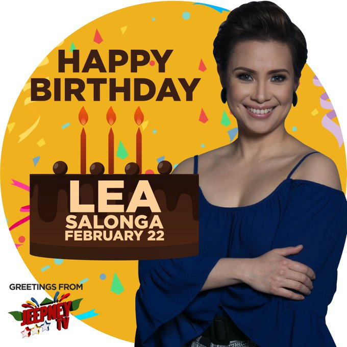 World-class singer, actress, and performer... Happy Birthday, Lea Salonga (  From