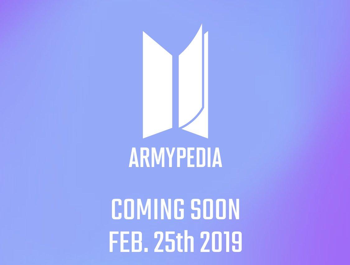 곧 시작합니다. ARMY와 함께 만드는 BTS 기억 저장소 #아미피디아 Get ready for the archive of all things BTS, made by ARMY! #ARMYPEDIA http://www.armypedia.net