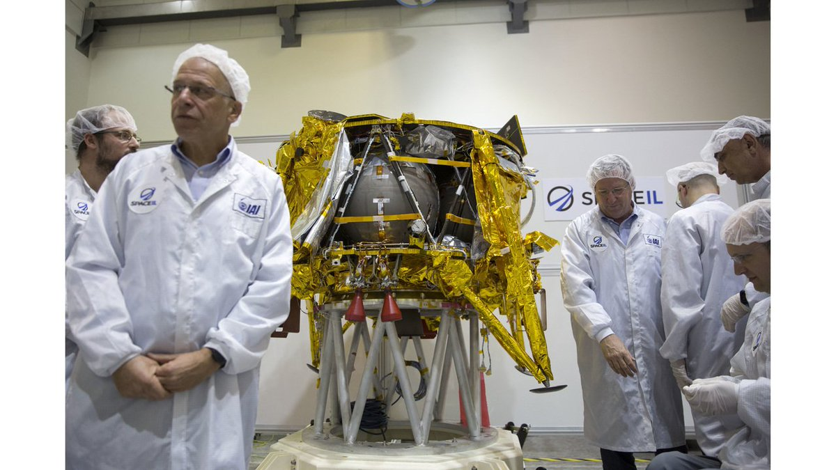 Israel flying to moon after SpaceX launch https://t.co/QxobOiyXon