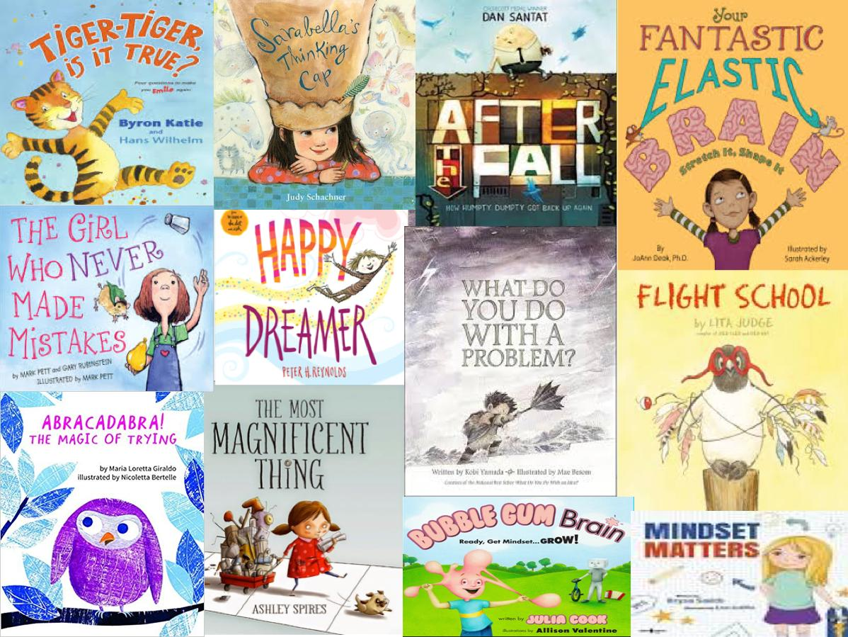 Some of our favorite #growthmindset titles. #eduAR