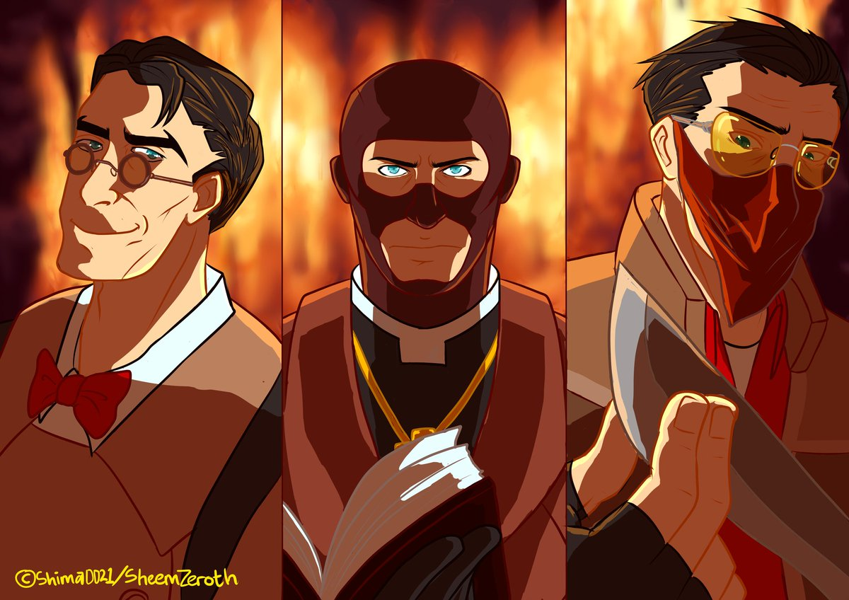 Shima Open Commission On Twitter Done Draw Support Class From Team Fortress 2 For Sell It As Artprint On Comic Frontier 12 Tomorrow Tf2 Teamfortress Teamfortress2 Spy Medic Sniper Tf2spy Tf2medic Tf2sniper Supportteam
