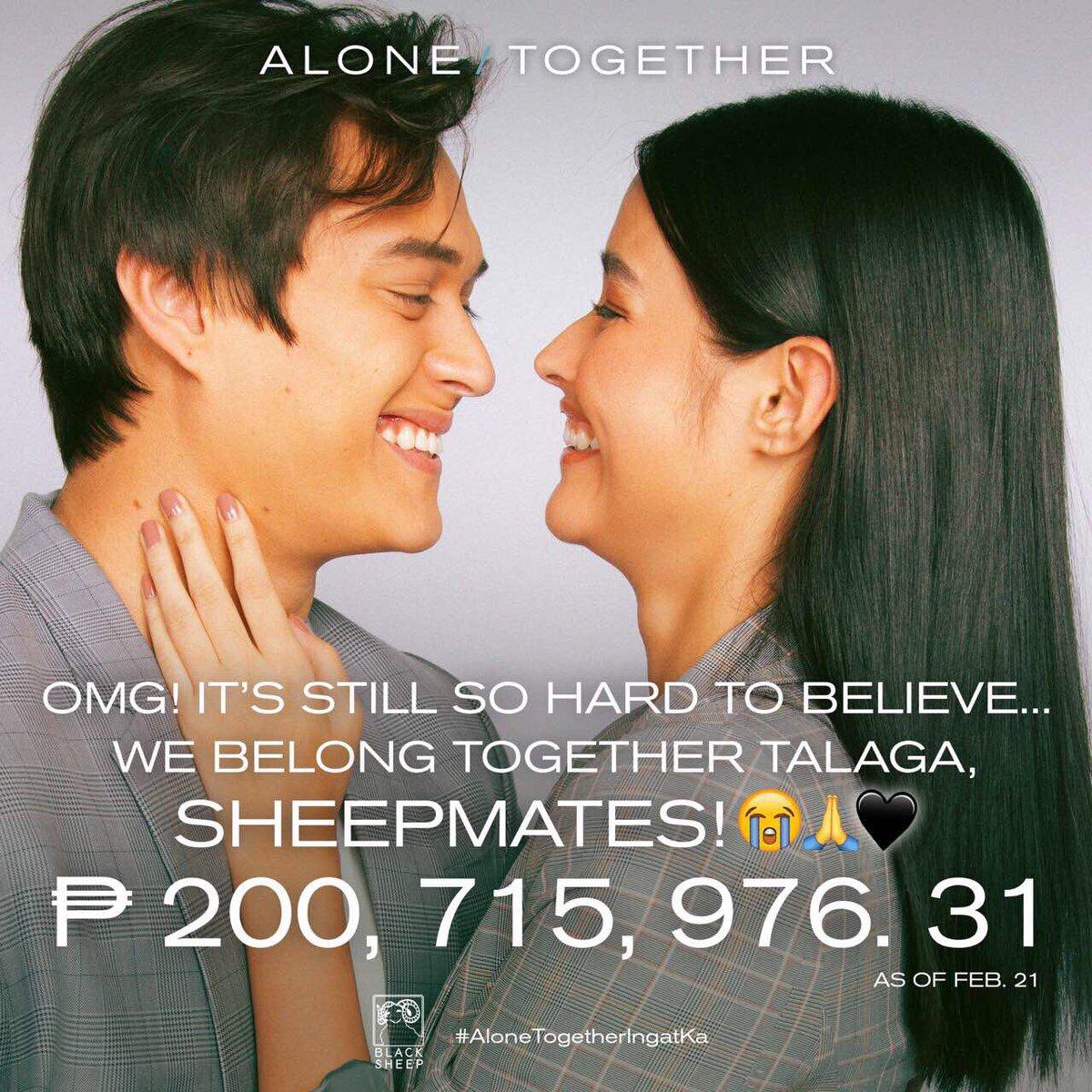 #AloneTogether is a certified blockbuster hit in the Philippines! At nagsimula na ang international screenings! Para sa complete country at cinema list, i-click lang ang link na ito:  http:// bit.ly/ATUpdatedIntlS creenings &nbsp; …   #AloneTogetherIngatKa<br>http://pic.twitter.com/5RCRT9P1KT