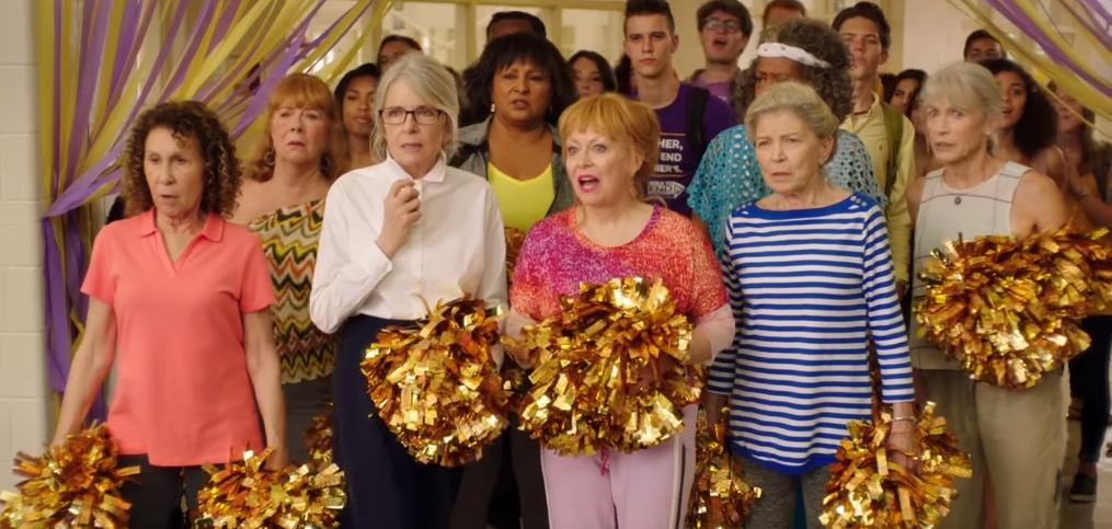.@Diane_Keaton and #JackiWeaver start a cheerleading squad in the hilarious new trailer for #Poms  https://t.co/mDxIQbAR0R