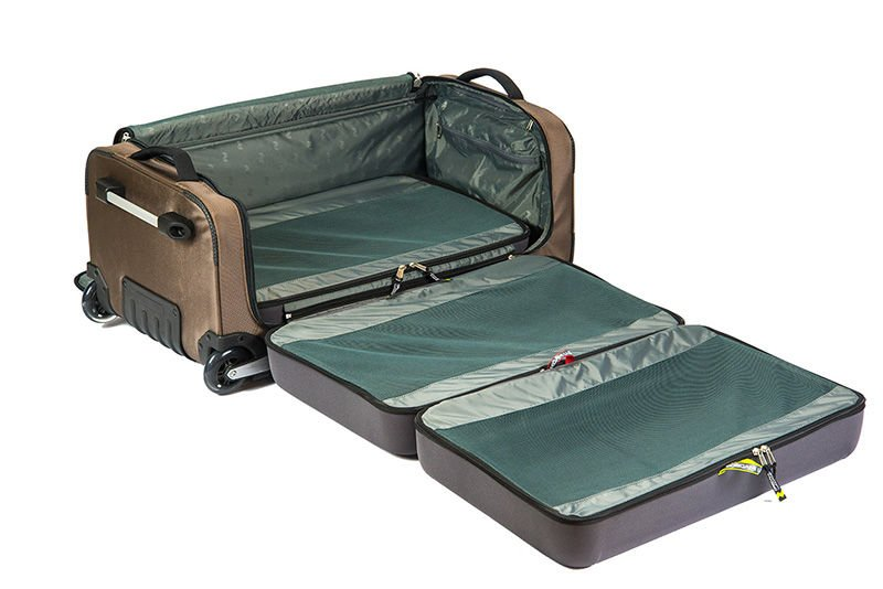 Compartmentalized Organization Suitcases https://t.co/55Oy5IBukL #World