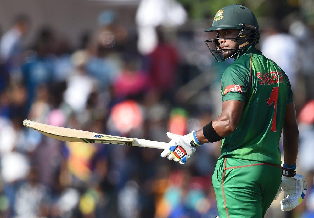 🙌 SABBIR RAHMAN HUNDRED 🙌  The Bangladesh batsman brings up his maiden ODI 💯 in the final ODI in Dunedin.   #NZvBAN LIVE 👇 http://bit.ly/NZvBan3
