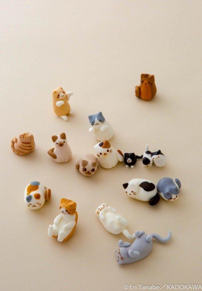 """書籍『猫いっぱいのスイーツBOOK』""""ねこの日""""に発売、作れる・食べれる可愛い猫スイーツ - https://t.co/26UbfxvYlN"""