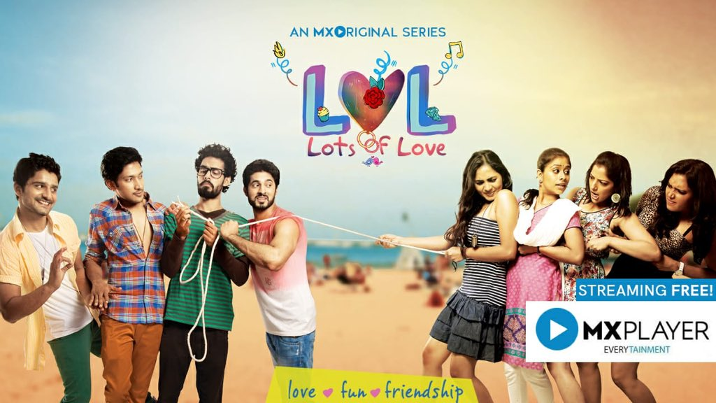 #LOLonMXPlayerFromToday @MXPlayer launches its first original web series #LotsOfLove in Telugu and Tamil. You can watch this technically strong youngsters Webseries for Free now https://mxplayer.in/detail/episode/885286331375b728143eb05cb4311c …