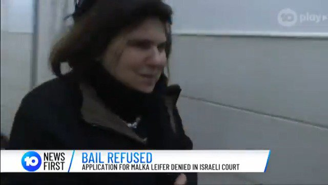 Malka Leifer, the former Victorian Jewish school principal accused of sexually assaulting some of her female students, has been denied bail in Jerusalem.  @CandiceWyatt10
