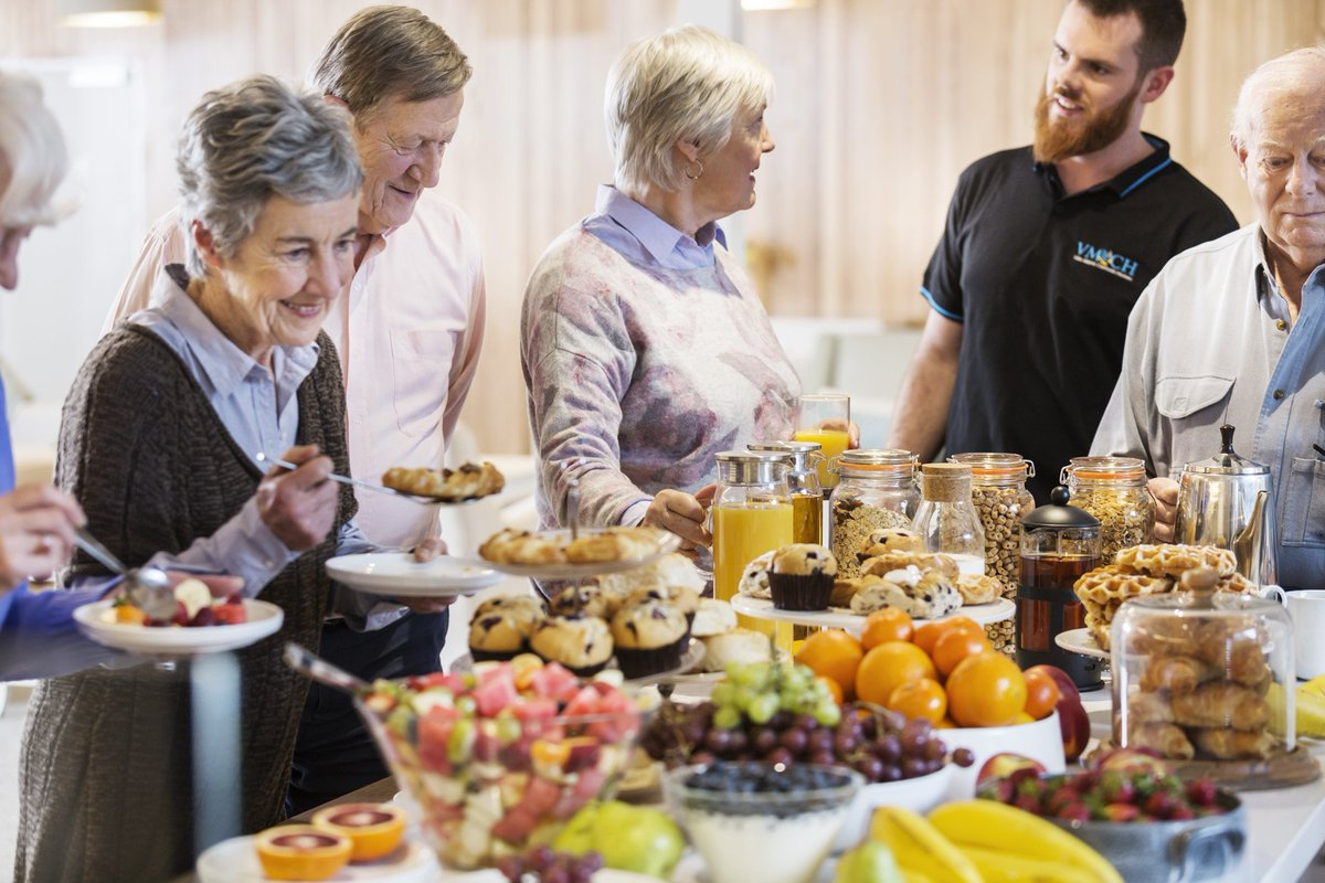 With all the negative news about #AgedCare, it's good to see some positive ideas in the sector - changing the way meals are served #postiveageing #elderlycare #foodies
