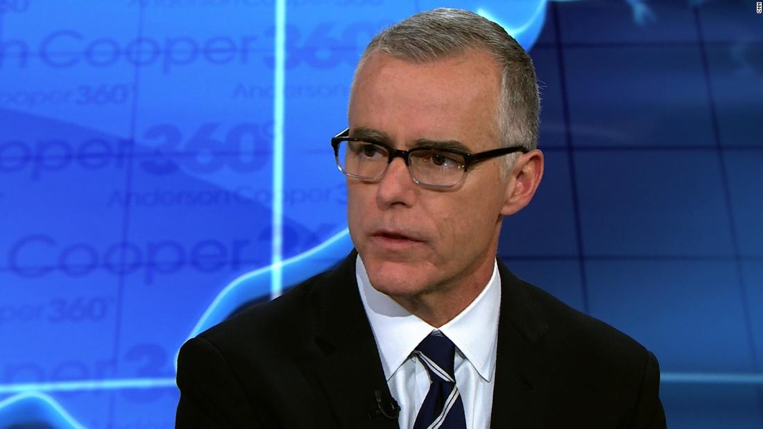 Former acting FBI Director Andrew McCabe said it is possible President Donald Trump is a Russian asset  https://t.co/xV09kTL9IW