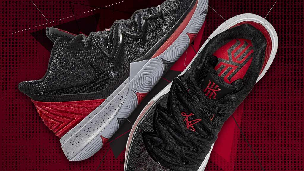 be3c6b6ab545 iconic the nike kyrie 5 drops in the famous bred colorway on 2 22 nike kyrie