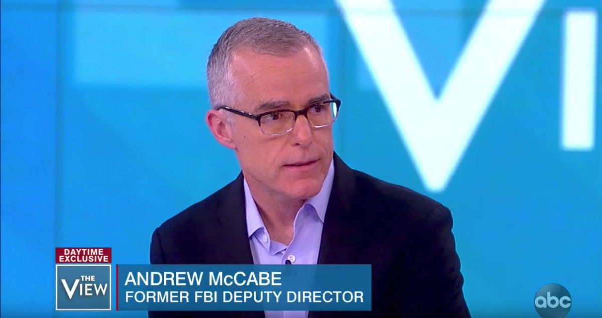 Meghan McCain accuses McCabe of putting on a 'PR campaign to stop yourself from getting indicted'  https://t.co/HeIVrzfrtP
