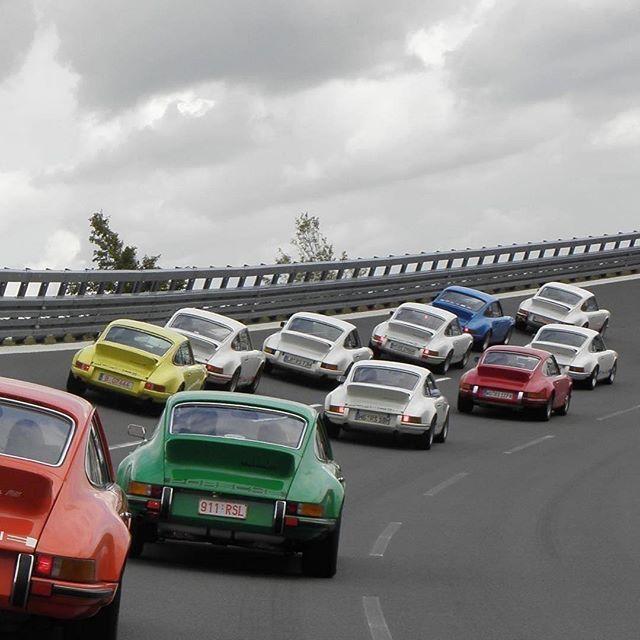 Just a bunch of Porsches. Photo by @porschepraha. — #artoffaith https://ift.tt/2Inn4IE