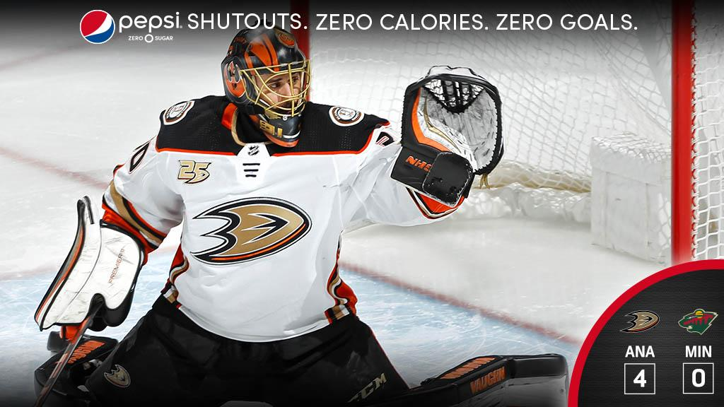 It's been a hot few games for @RyanMiller3039. You can add on a @pepsi shutout to it as well.