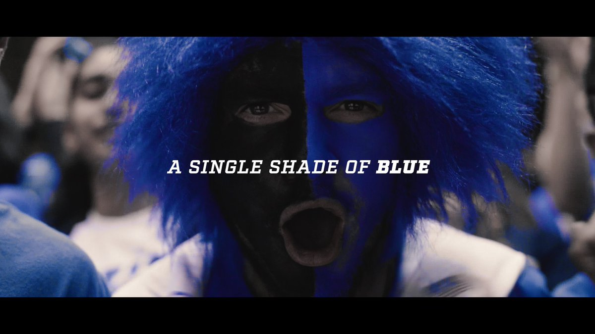 """A single shade of blue..."" 🔵😈"