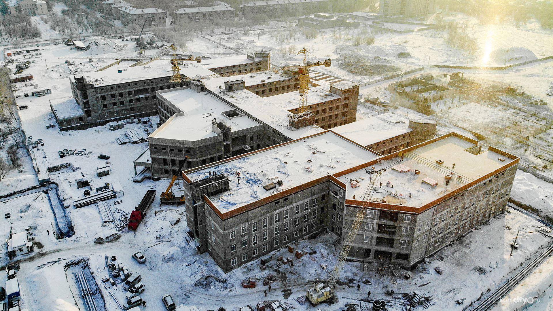 современном мире фото строительных объектов комсомольска на амуре начале июня