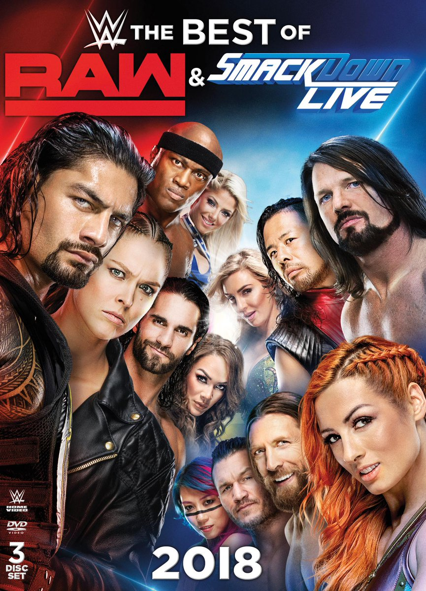Experience one of the greatest years in #WWE history, The Best of Raw and SmackDown Live 2018! http://bit.ly/2DVTm7W