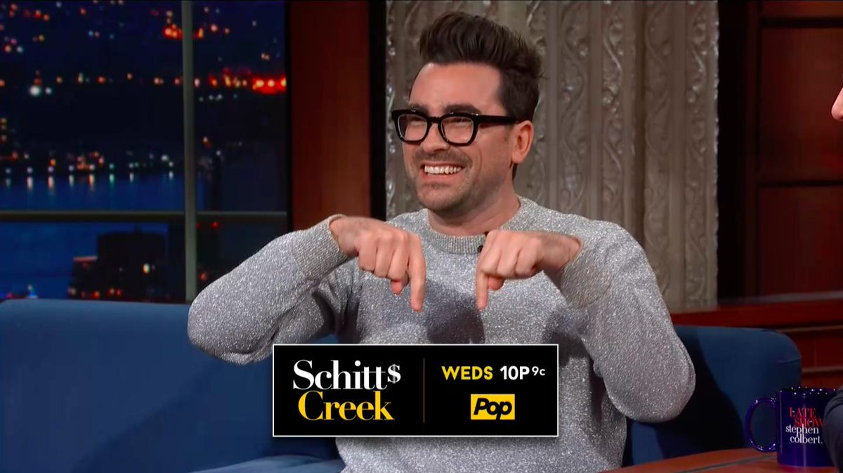 """.@danjlevy has a message for you @MariahCarey  """"Thank you so much for endorsing our little show!"""" #LSSC <br>http://pic.twitter.com/mWnEwWuS8n"""