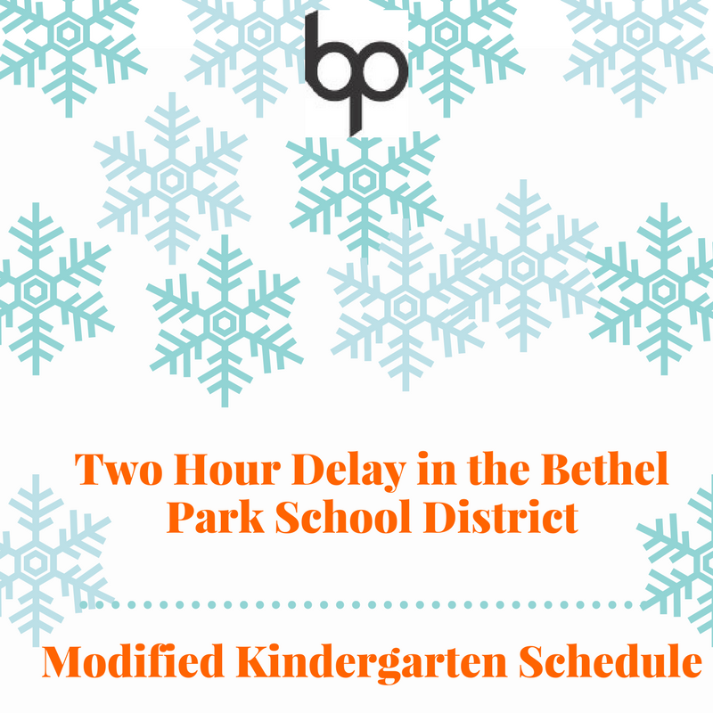 Bethel Park SD's photo on Two Hour Delay