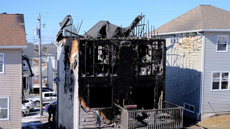 Seven Syrian refugee children die in house fire in Canada https://t.co/QWAiKBDy7K