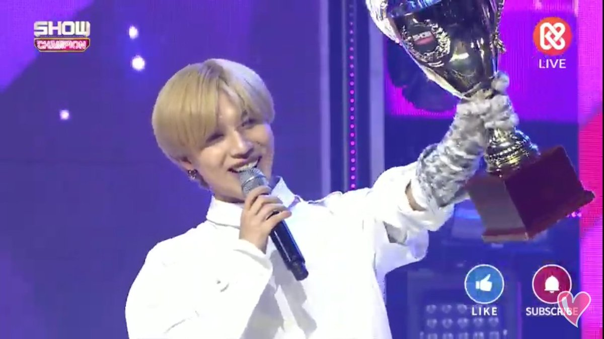 CONGRATS TO OUR LEE TAEMIN! YOU DID SO WELL OUR BABY MAKNAE #WANT1stwin<br>http://pic.twitter.com/l1QEG9Xtnd