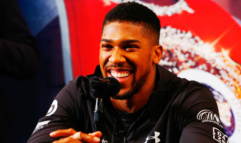 Anthony Joshua on Deontay Wilder and Tyson Fury:  'I've done what they dream of doing in a quarter of the time. Wilder's had 40 fights. Fury's been professional for 11 years and has had one good win against Klitschko and is now a boxing God. I can't preach to the blind.'