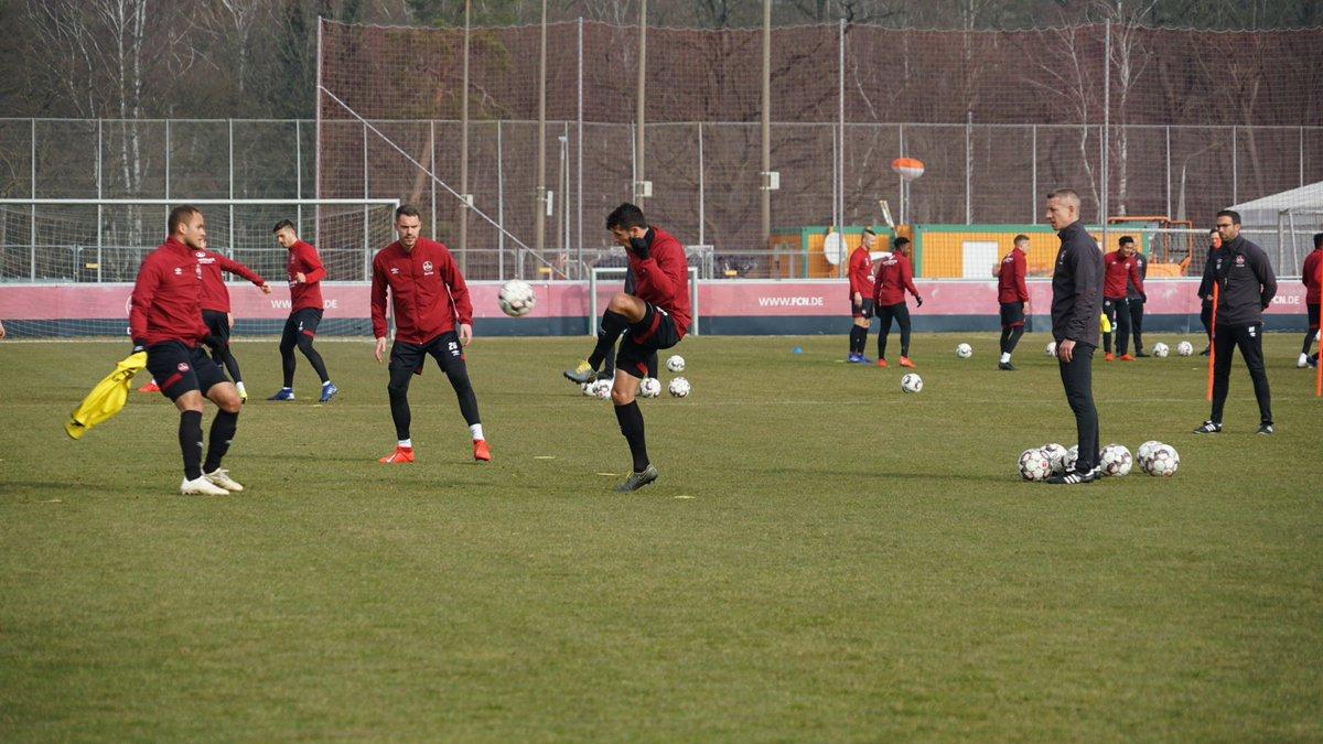 Georg Margreitter und Kevin Goden fehlen weiterhin auf dem Trainingsplatz.  #FCN