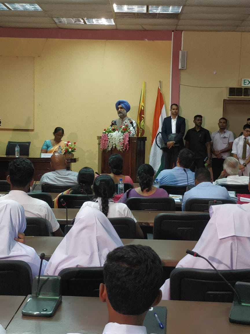 Twelfth year of awarding Mahatma Gandhi Scholarship to bright students on merit, across 25 districts of Sri Lanka.