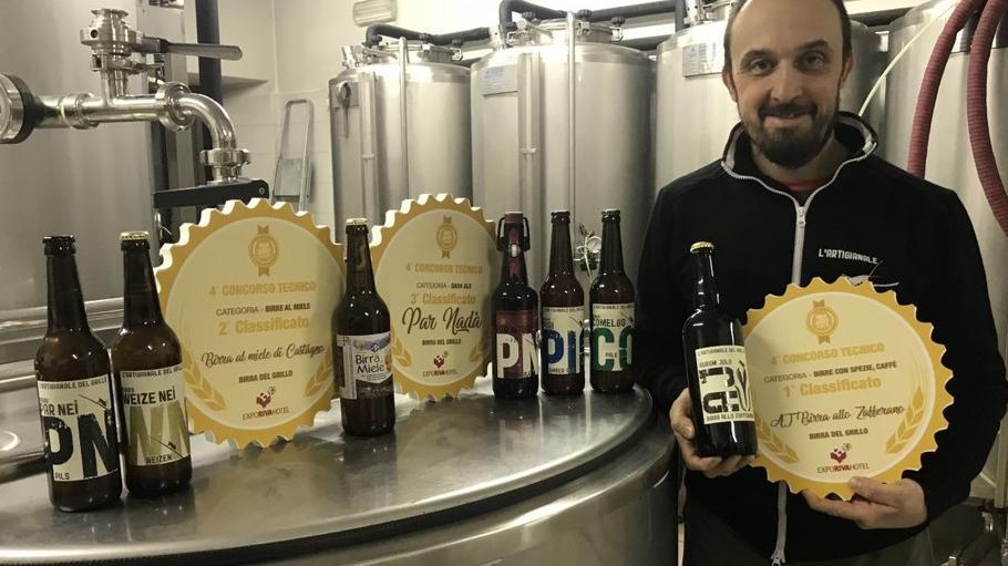 """Arrivano tre premi per la """"birra del Grillo"""". ..."""