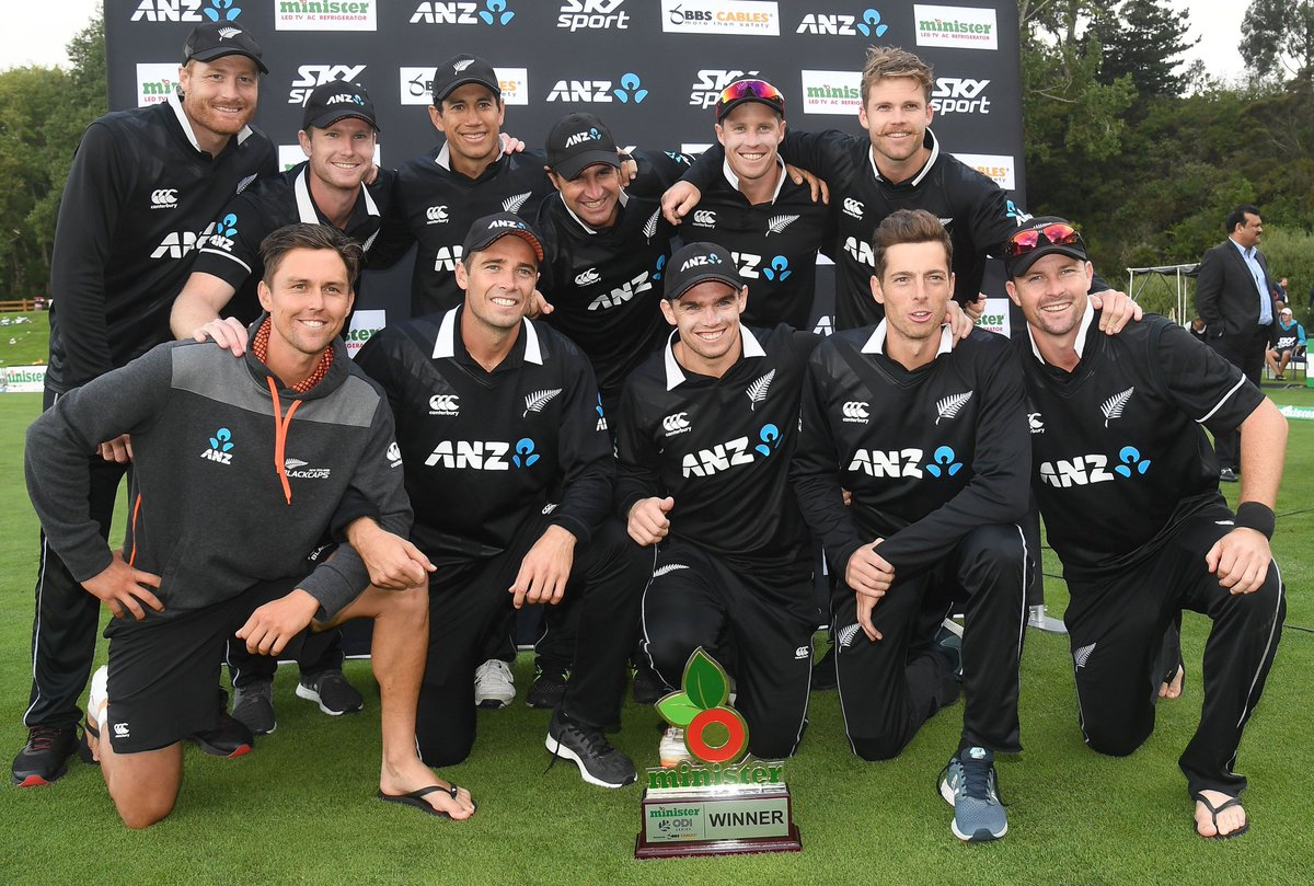 BREAKING: Following the 3-0 series sweep against Bangladesh, New Zealand have overtaken South Africa in the @MRFWorldwide ICC ODI Team Rankings.  They now sit at No.3.  DETAILS ⬇️ http://bit.ly/ODITeamRankings-20Feb…