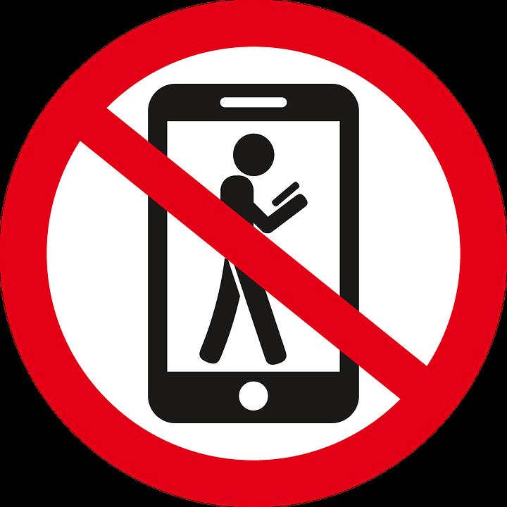 Картинки, картинка мобильник под запретом