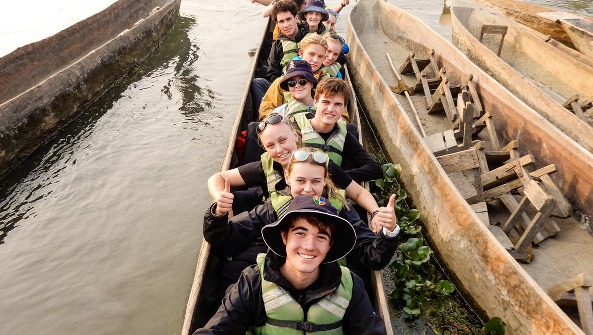 A perfect day for a cruise on the river 🌏  #weareworldchallenge #foreverchanged   https://t.co/rgC19o86BN