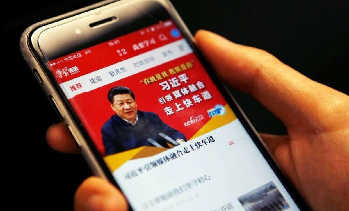 """The mountains are high & the emperor's far away 山高皇帝远."" Well, not anymore: the emperor is right here, in your smartphone: https://www.hongkongfp.com/2019/02/16/dawn-little-red-smartphone-chinas-digital-dictatorship/ …"